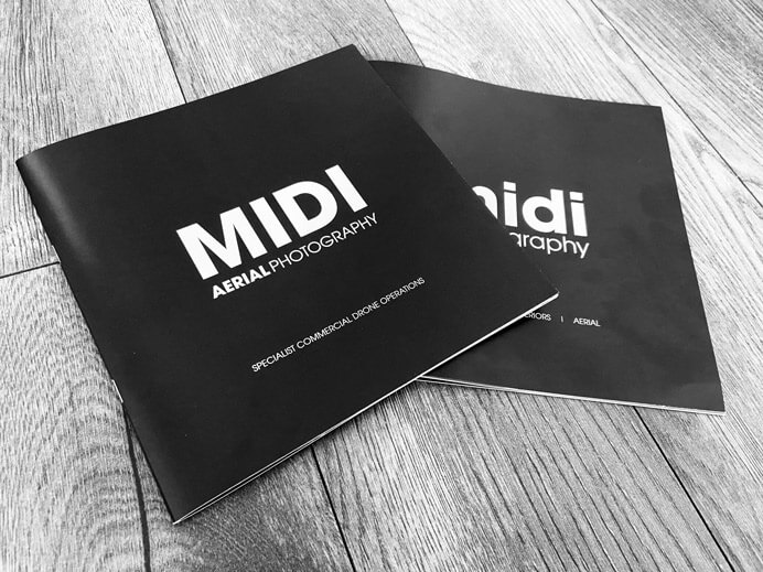 A collection of x8 Brochures for Midi Photography