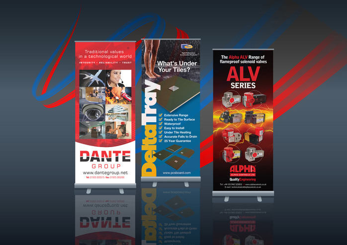 Banner Stand and Display Design