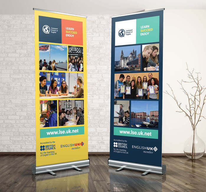 Branded Roller Banners for Education