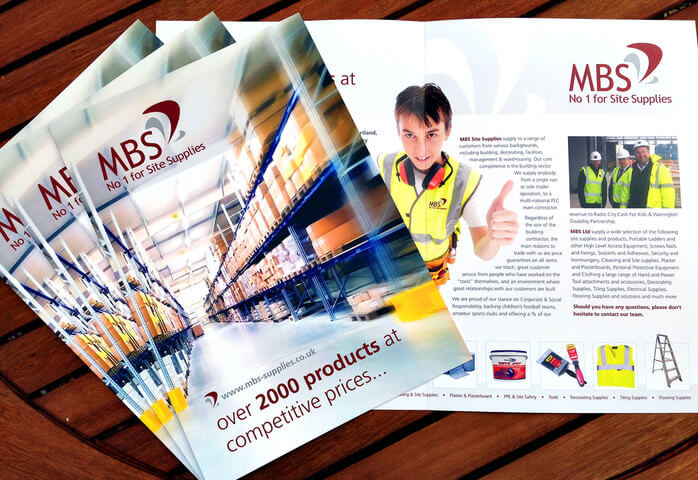 Brochure Design for the Construction Industry