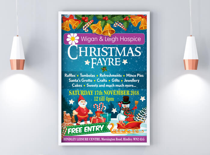 Charity Christmas Poster Design