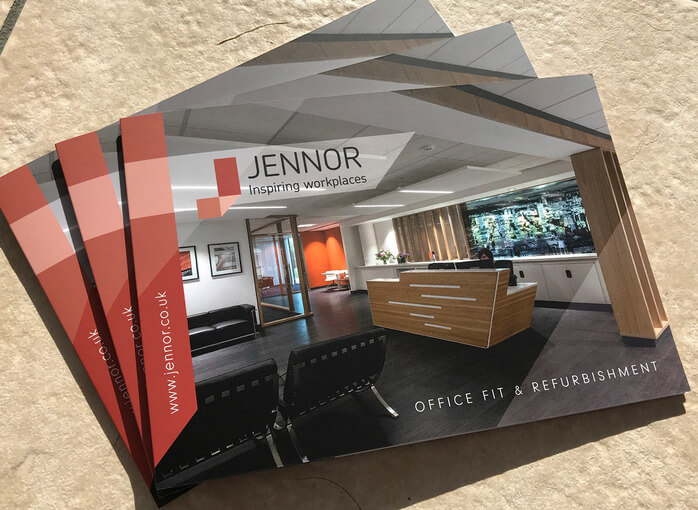 Graphic Design St Helens - Mini Brochure for Jennor UK