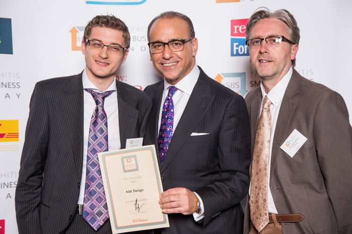NW Design - Theo Paphitis SBS Winner!
