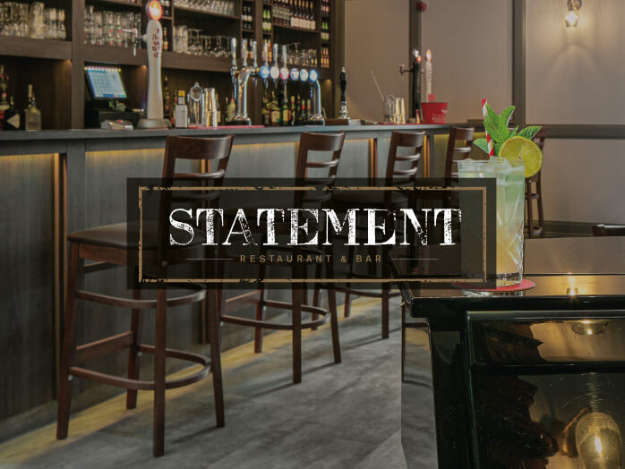 Restaurant Brand Identity for Statement Restaurant & Bar