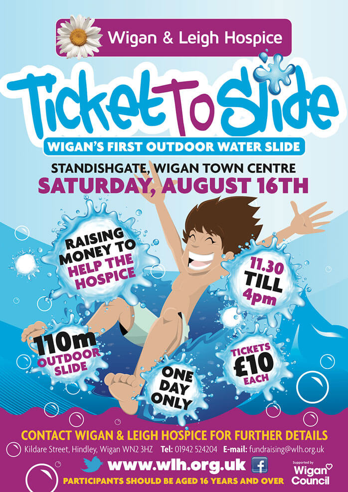 Ticket to slide in Wigan!